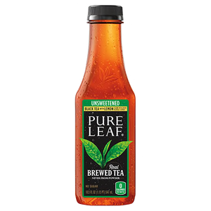 Pure Leaf Tea Unsweetened with Lemon 18.05 oz. Bottle