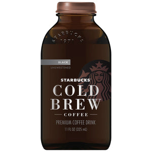Starbucks Cold Brew Unsweetend