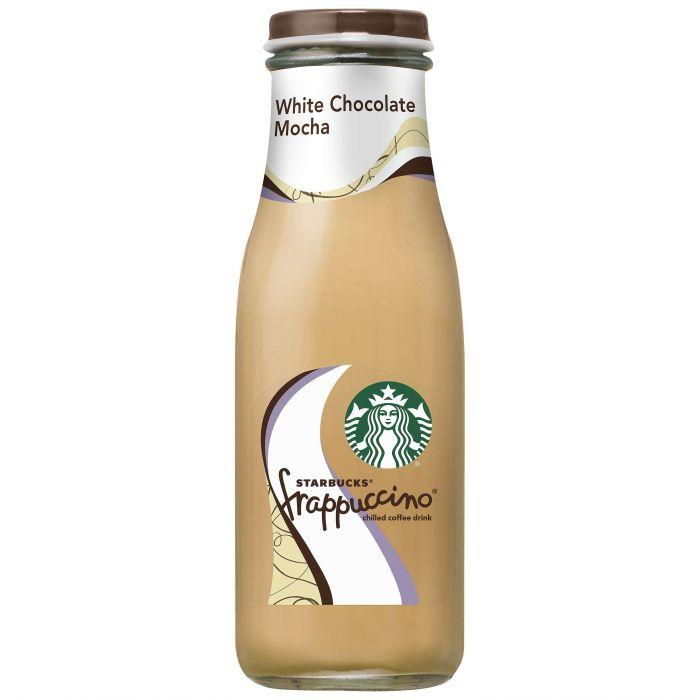 Starbucks White Chocolate Mocha Frappuccino 13.7oz. Bottle