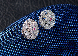 Petite Diamond Chain earrings design