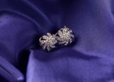 Amerah Saqafat Earrings | Flower Style Pure Silver