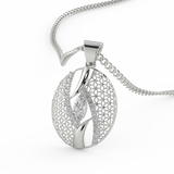 The Orchid Pendant