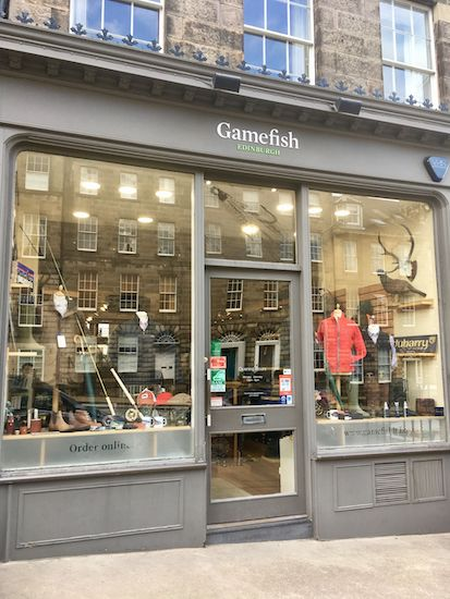 Gamefish Store Edinburgh