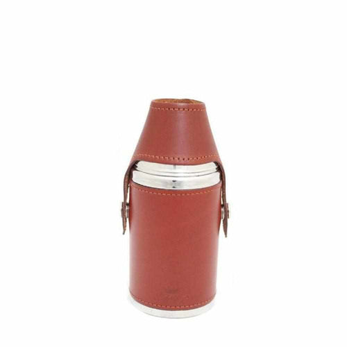 Marlborough Hunter Flask Chestnut - 6oz - Gamefishltd