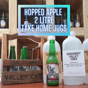 Pre Order - Farmers Market - 2020 Hopped Apple 2L jug