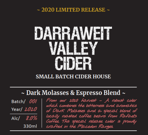 2020 Dark Molasses & Espresso
