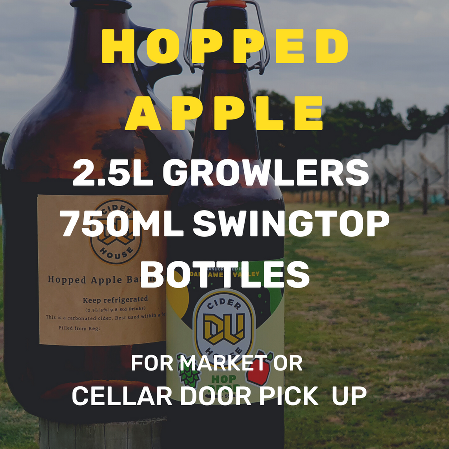 2020 Hopped Apple 2.5L Growler