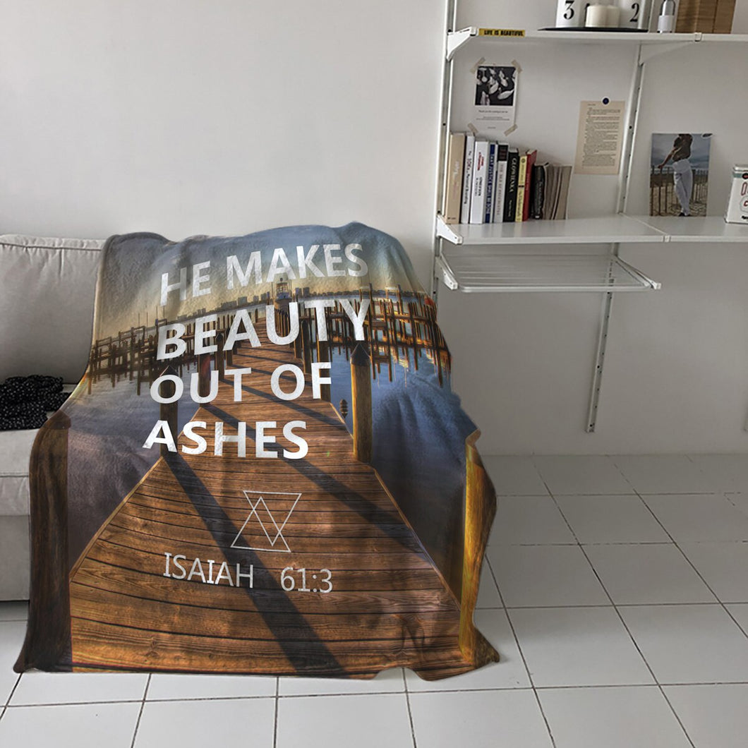 Beauty Out Of Ashes Throw