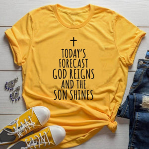 God Reigns and The Son Shines T-Shirt