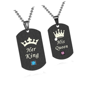 Her King and His Queen Necklace