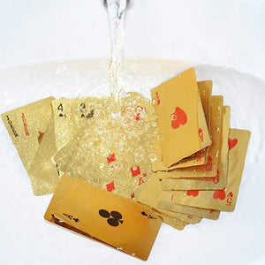 Luxury 24K Gold Foil Poker Playing Cards (Buy 3 Free Shipping