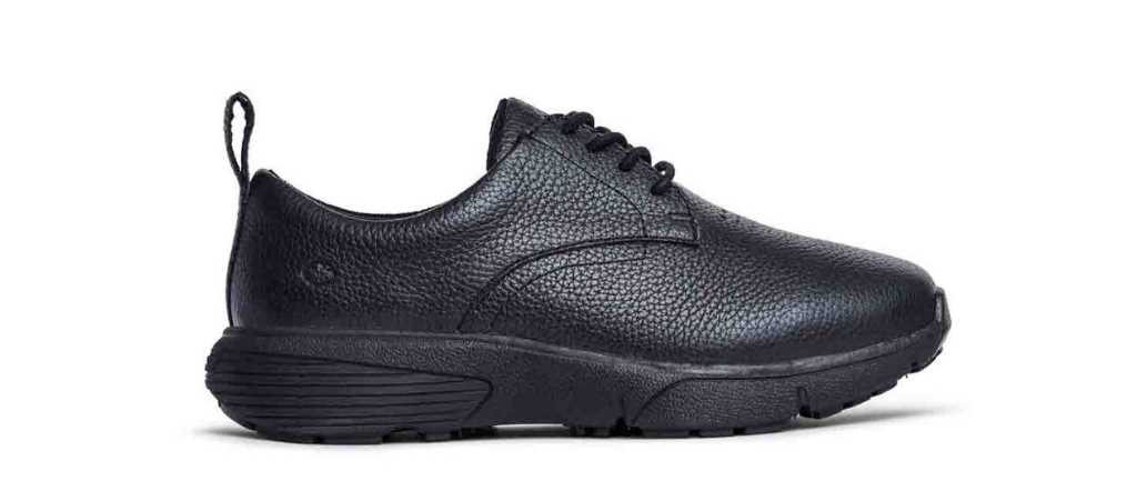 dr comfort black womens ruth casual diabetic shoe right side view 1024 x 451