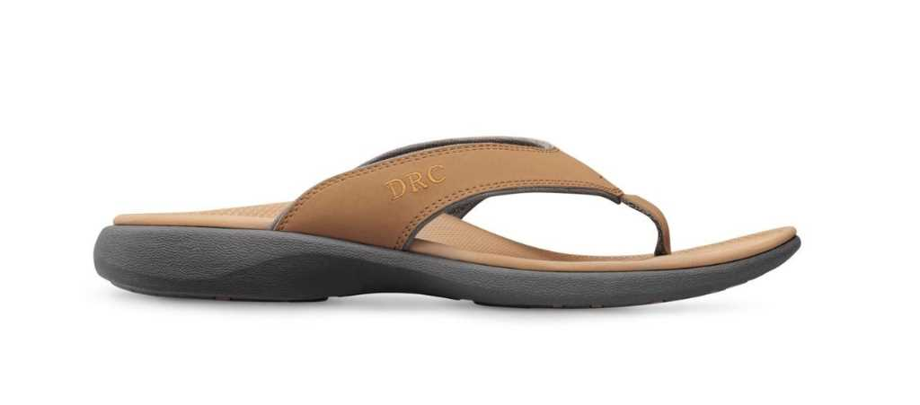 dr comfort camel womens shannon diabetic sandal right side view 1024 x 451