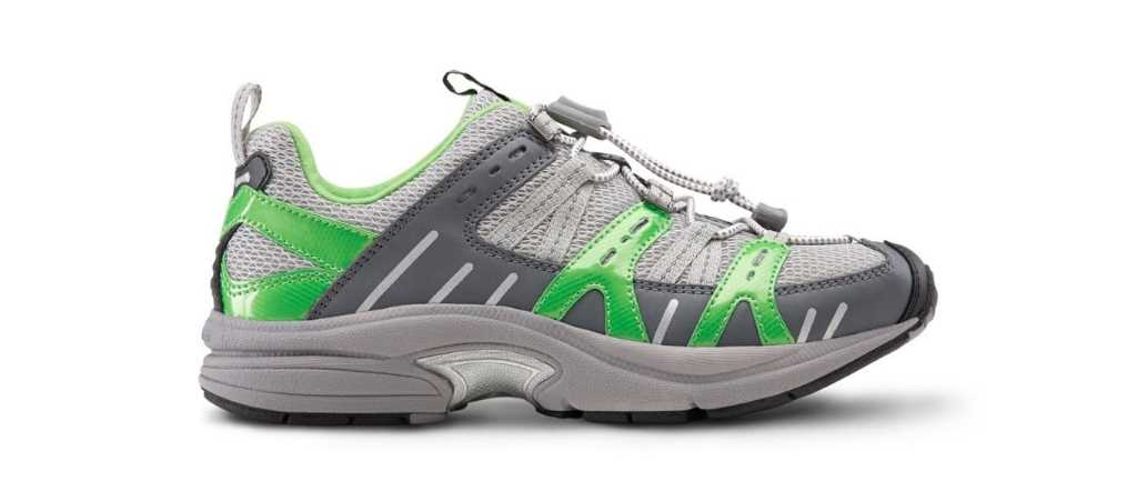 dr comfort lime womens refresh athletic diabetic shoe right side view 1024 x 451