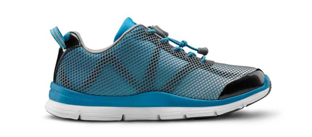 dr comfort womens turquoise katy athletic shoe right side view 1024 x 451