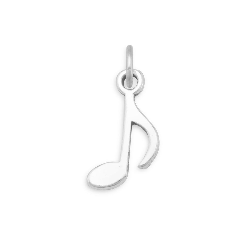 Musical 8th Note Charm