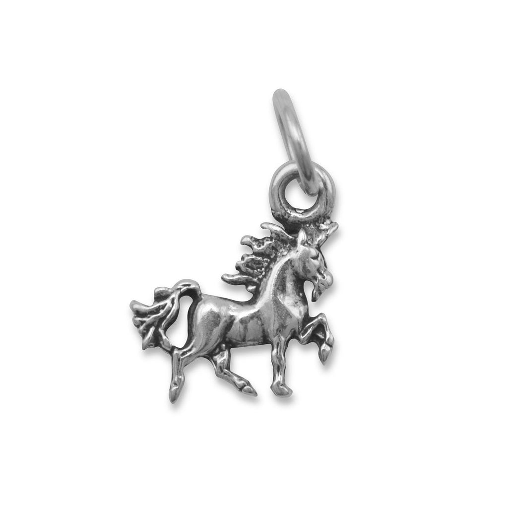 Oxidized Unicorn Charm