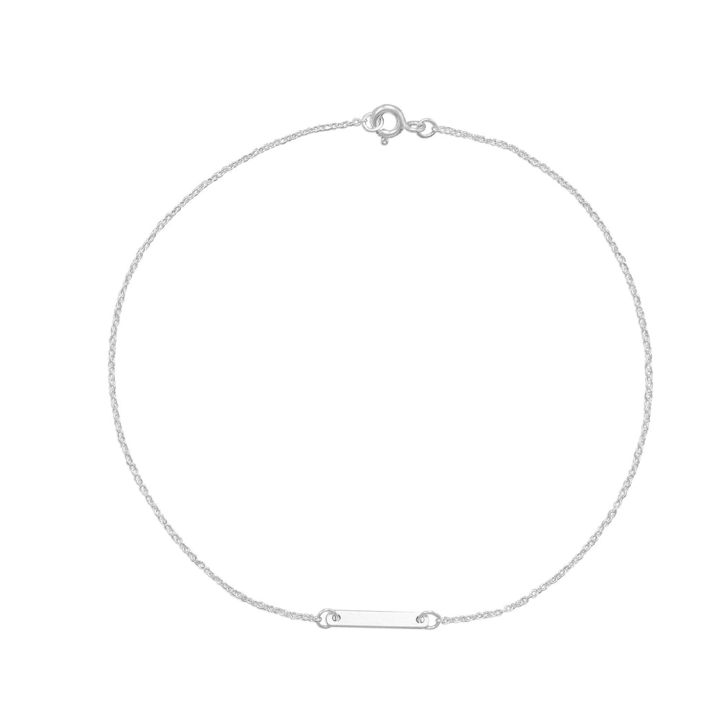 Tiny Bar Anklet