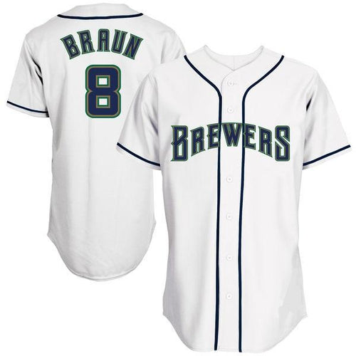Ryan Braun 1994 Milwaukee Brewers Throwback Jersey