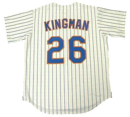 Dave Kingman New York Mets Home Jersey