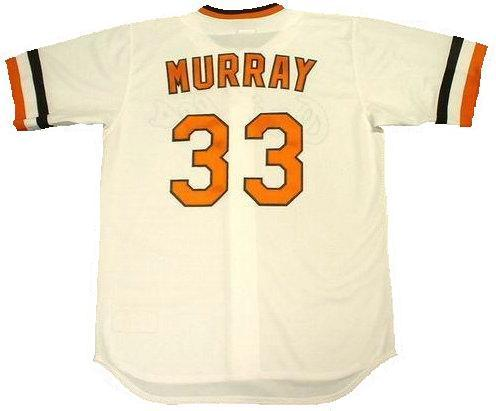 Eddie Murray 1983 Baltimore Orioles Throwback Jersey