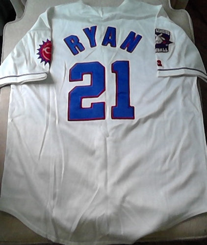Nolan Ryan Authentic Russell Diamond Legends Hagerstown Suns Minor League Baseball Jersey (In-Stock-Closeout) Size XL/48 Inch Chest