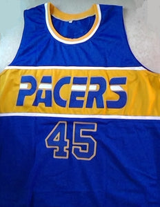 Rik Smits Indiana Pacers Basketball Jersey