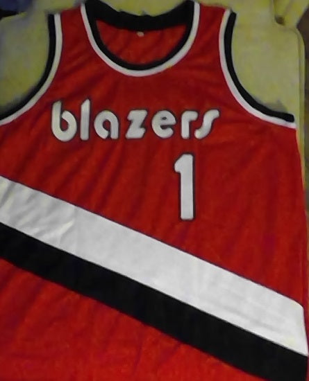 Rod Strickland Portland Trail Blazers Basketball Jersey