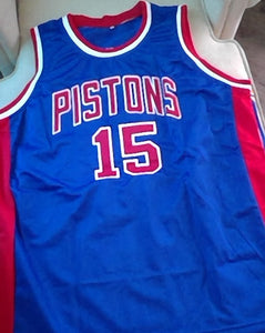 Vinnie Johnson Detroit Pistons Basketball Jersey
