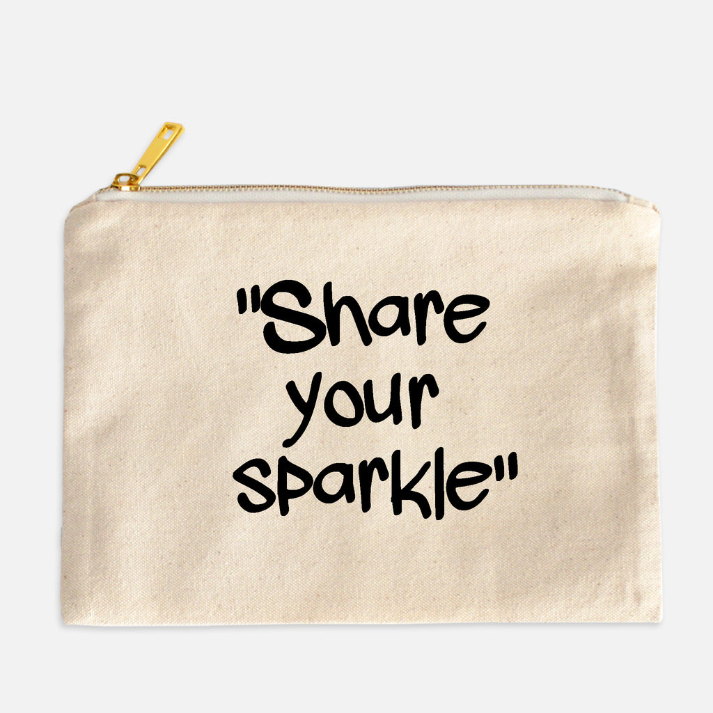 Share Your Sparkle Cosmetic Bag