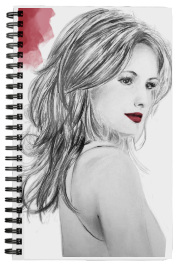 Cute Black, Red and White Fashion Journal