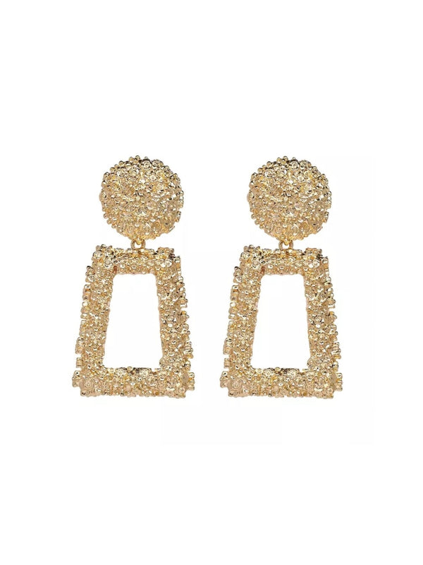 Textured Statement Earrings