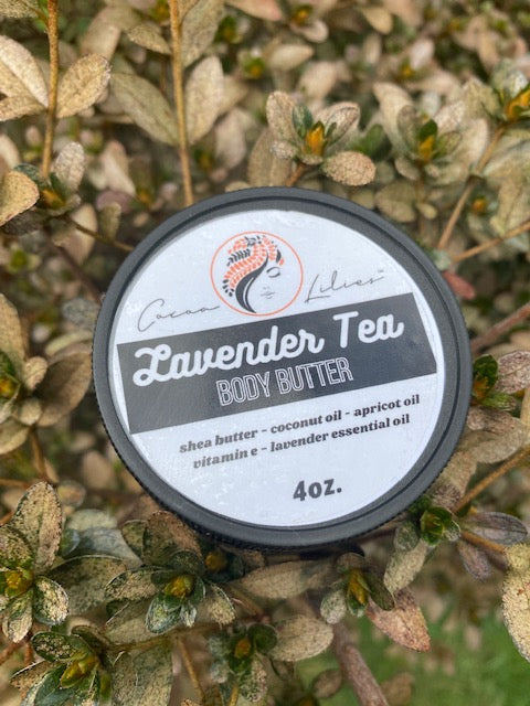 Lavender Tea Body Butter