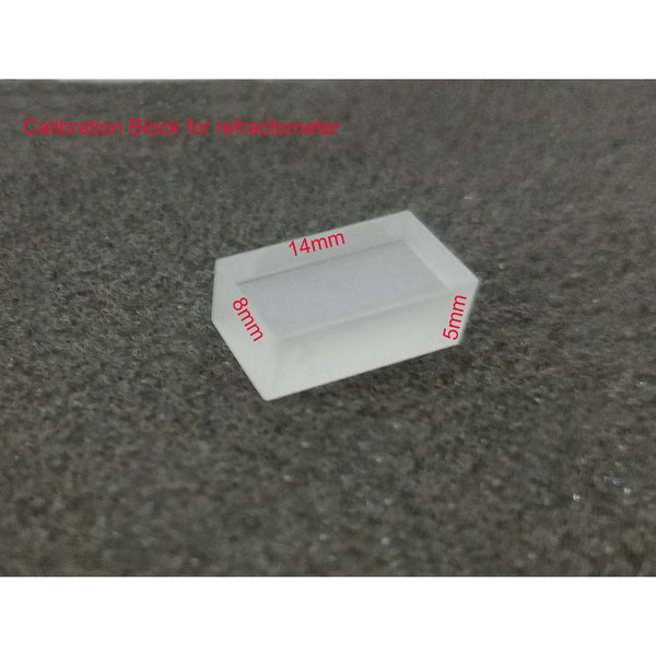 Calibration Block for Azzota Portable Refractometers 8mm*14mm*5mm