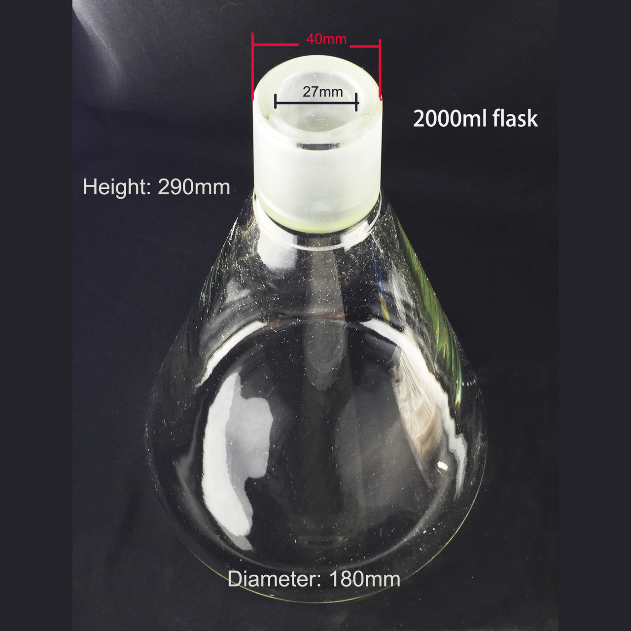 2L Glass Filter Flask for the Azzota Filtration Apparatus