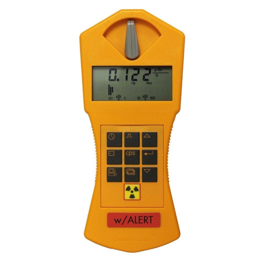 Geiger Counter Gamma-Scout Alert Version - Hand Held Radiation Detector