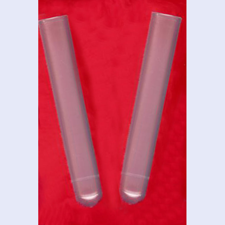 Clear Plastic Test Tubes, 16x100mm, 14ml