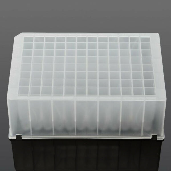 Azzota® 96 Deep Well Plate, Square Top shape, Non-Sterile (Equivalent to Thermo 95040450 95040452 A43075)