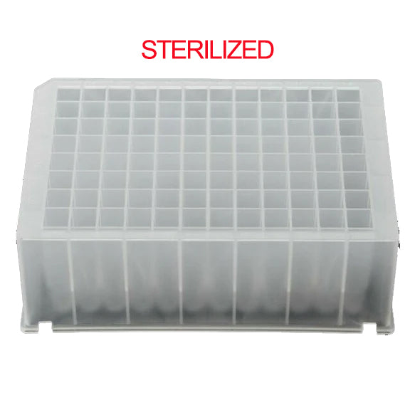 Azzota® 96 Deep Well Plate, Square Top, Sterilized (Equivalent to Thermo 95040460)