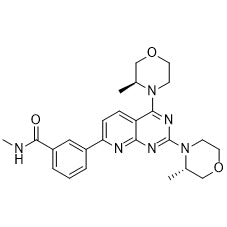 Product Name: AZD-2014 (Vistusertib) Chemical Formula: C25H30N6O3 Moleculer Weight: 462.54 CAS#: 1009298-59-2 Appearance: Solid powder Purity: > 99% by HPLC