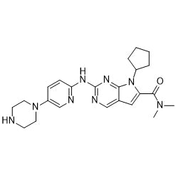 LEE-011 (Ribociclib) Chemical Formula: C23H30N8O
