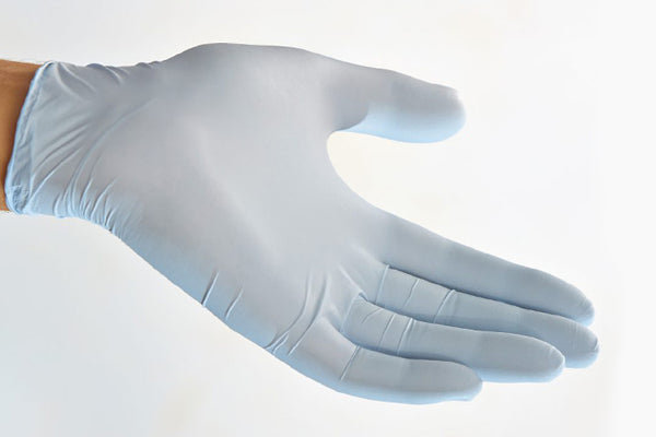 Nitrile Exam Gloves with Colloidal Oatmeal extractions