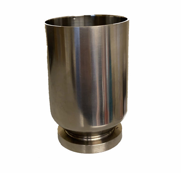 Azzota® Stainless Steel Filtration Flask