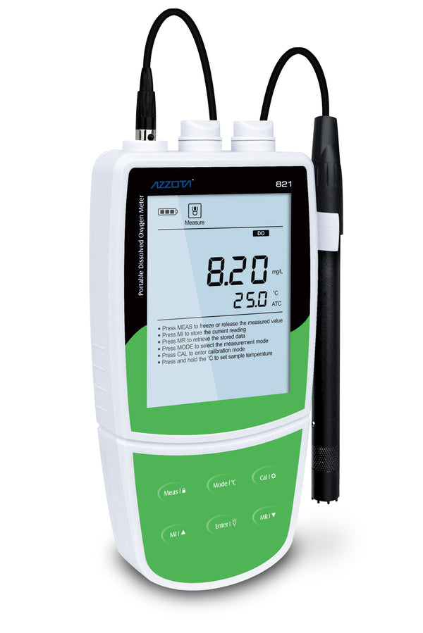 Azzota High-accuracy Portable Dissolved Oxygen Meter, PDO-821