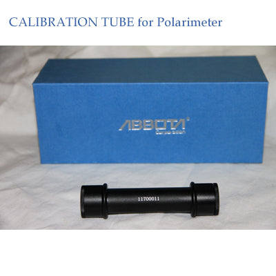 Polarimeter Calibration tube for polarimeter