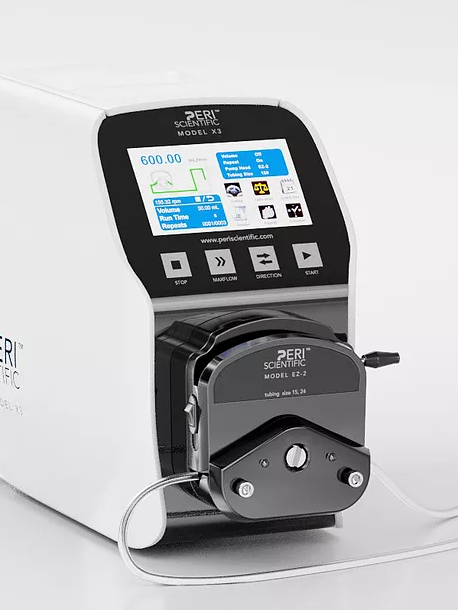 X3 Smart Peristaltic Pump Systems, 0.017-1740 mL/min with EZ2 heavy duty pump head
