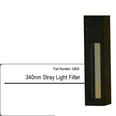 340nm Stray Light Filter for spectrophotometer calibration