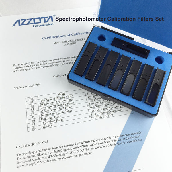 Azzota Calibration Filters Set