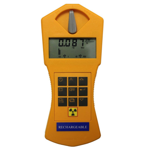 Gamma-Scout Brand Geiger Counter, Rechargeable Model