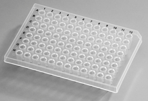 PCR Plates, 96 Well, 0.2ml, Semi Skirt, Clear, for ABI Instrument